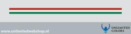Italie vlag strook voor afbiezen
