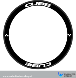 Cube wheel stickers 2, 8 pieces