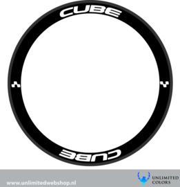 Cube velg stickers 2, 8 stuks