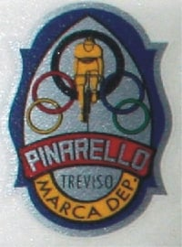 Pinarello headbadge sticker