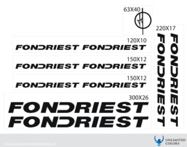 Fondriest stickers