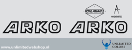 Arko stickerset