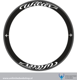 Wilier wheel stickers 2, 8 pieces