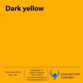 Donker geel RAL 1033