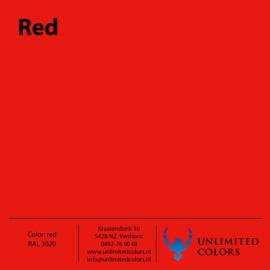 Rood RAL 3020