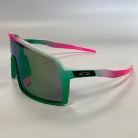 Custom Oakley Sutro - Green/White/Pink