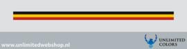 Belgie vlag strook voor afbiezen
