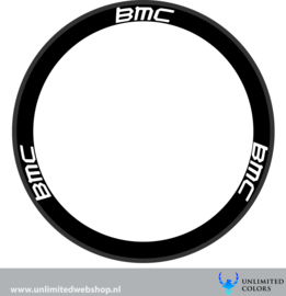 BMC wheel stickers, 6 pieces