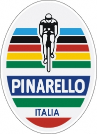 Pinarello headbadge sticker 2