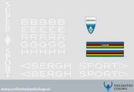 Bergh stickers
