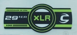 XLR lefty sticker