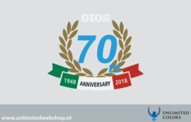 Gios 70th anniversary