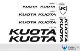 Kuota new font