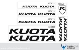 Kuota nieuw lettertype
