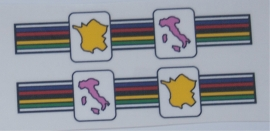 Eddy Merckx zitbuis bandjes