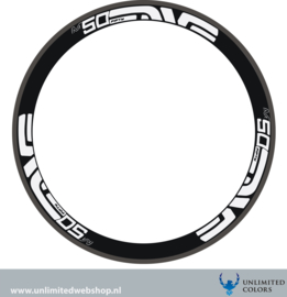 Enve m50 rim stickerset, 6 pieces