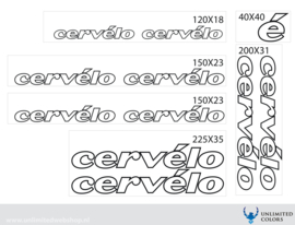 Cervelo stickers outline