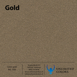 Gold RAL 1036
