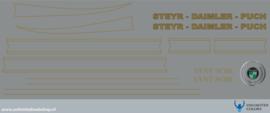 Steyr - Daimler - Puch Stickerset