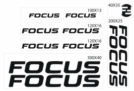 Focus stickers