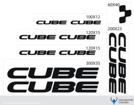 Cube stickers