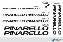 Pinarello stickers, nieuw logo