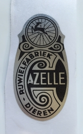 Gazelle headbadge sticker