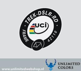 UCI Trek Domane disc TREK-DSLR-RD