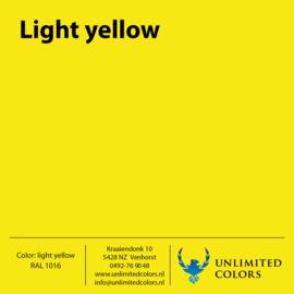 Light yellow RAL 1016