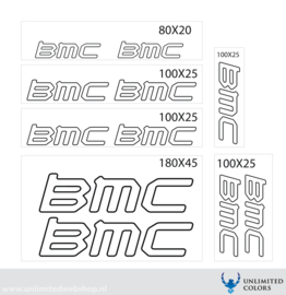 BMC stickers outline