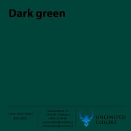 Donker groen RAL 6005