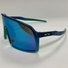 Custom Oakley Sutro - Fade Blue / Green