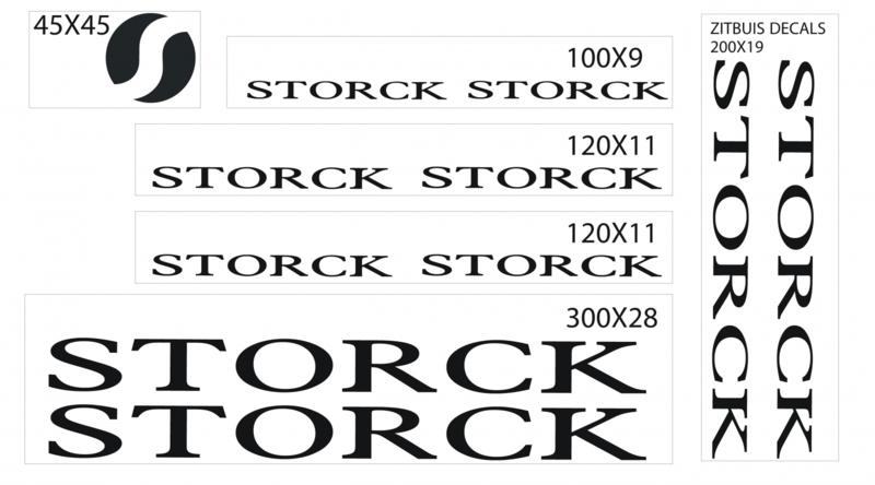 Storck stickers