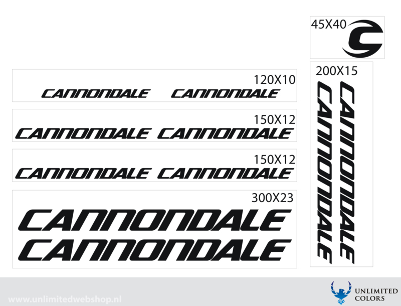 Cannondale stickers
