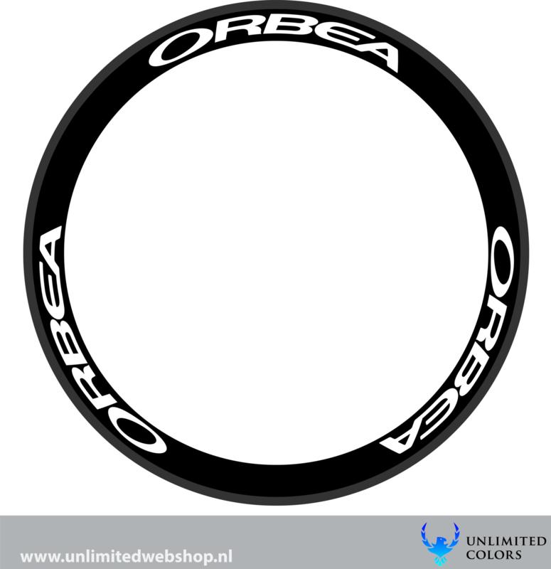 Orbea velg stickers, 6 stuks