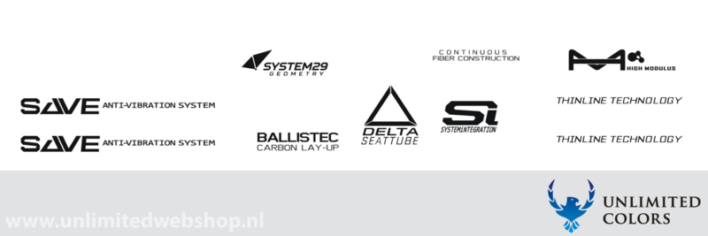 Cannondale technology stickers