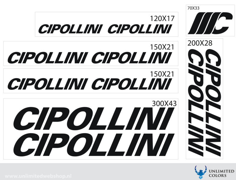 Cipollini stickers
