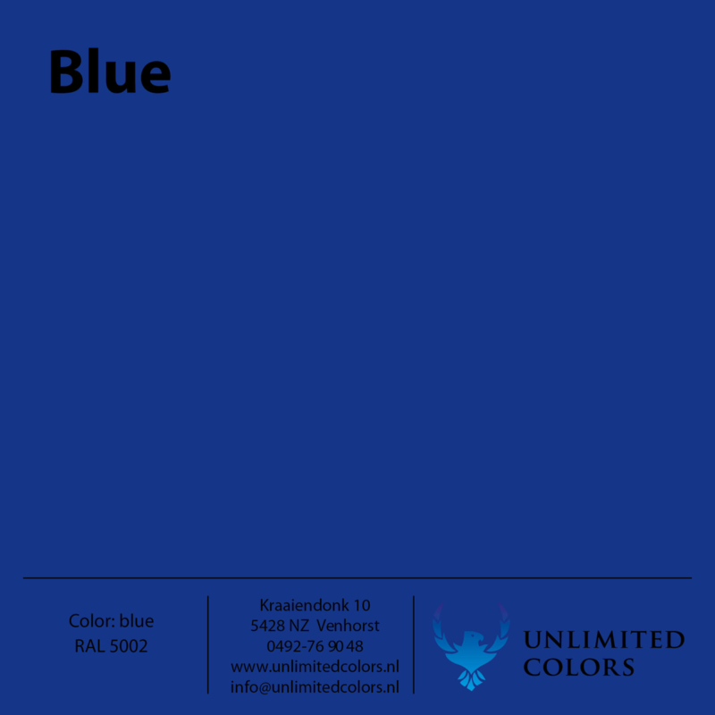 Blauw RAL 5002