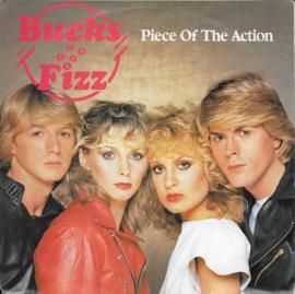 Bucks Fizz - Piece of the action (Belgische uitgave)