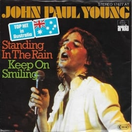 John Paul Young - Standing in the rain (Duitse uitgave)