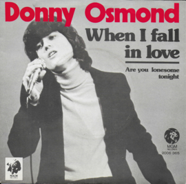 Donny Osmond - When i fall in love