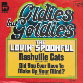 Lovin' Spoonful - Nashville cats / Did you ever have to make up your mind? (Duitse uitgave)