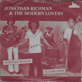 Jonathan Richman & The Modern Lovers - Egyptian reggae (alternative cover)