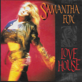 Samantha Fox - Love house (Engelse uitgave)