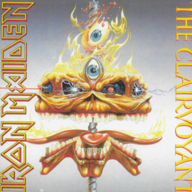 Iron Maiden - The clairvoyant (2014 uitgave)