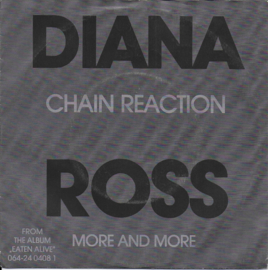 Diana Ross - Chain reaction (Alternative cover)