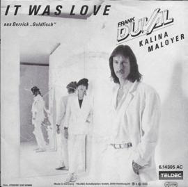 Frank Duval - It was love