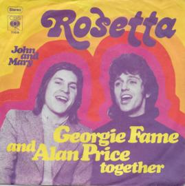 Georgie Fame & Alan price - Rosetta (Duitse uitgave)