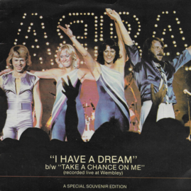 Abba - I have a dream (Engelse uitgave)