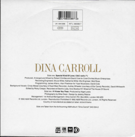 Dina Carroll - Special kind of love (Engelse uitgave)